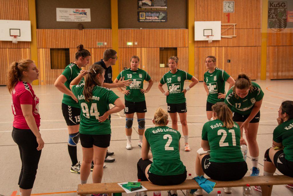 Erster Auswärtssieg für die Damen gegen Ilvesheim!