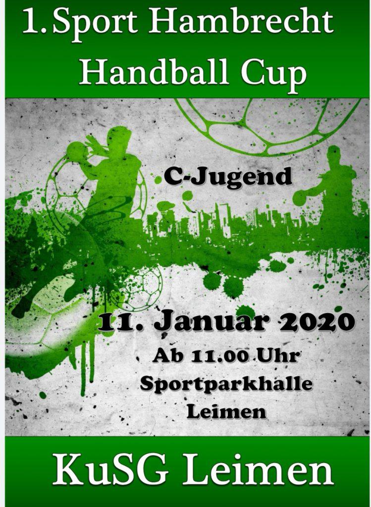 KuSG Leimen gewinnt den 1. Sport Hambrecht Cup